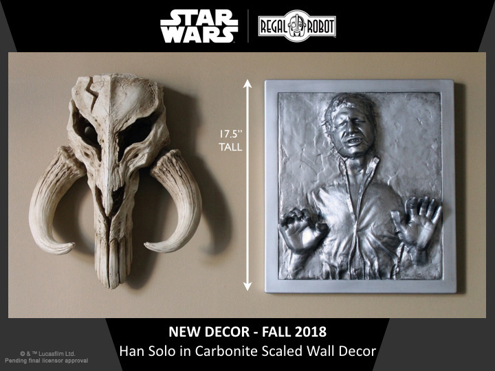 Han Solo in Carbonite wall art