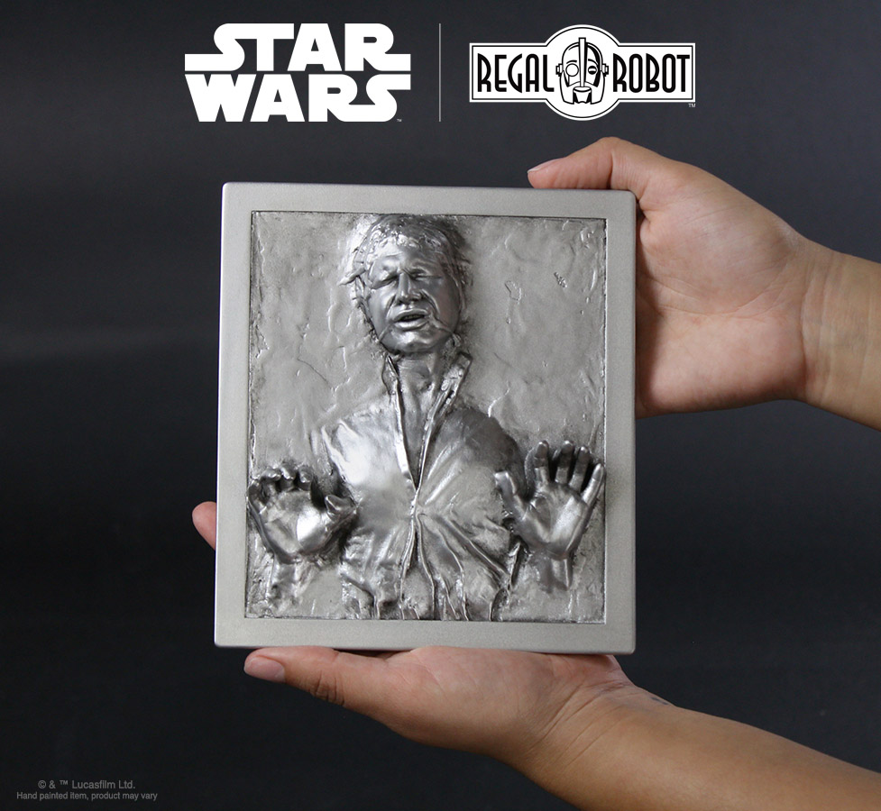 Han Solo™ Carbonite plaque for wall decor
