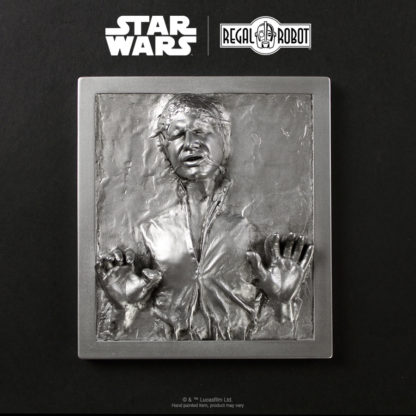 Han Solo Carbonite prop wall art
