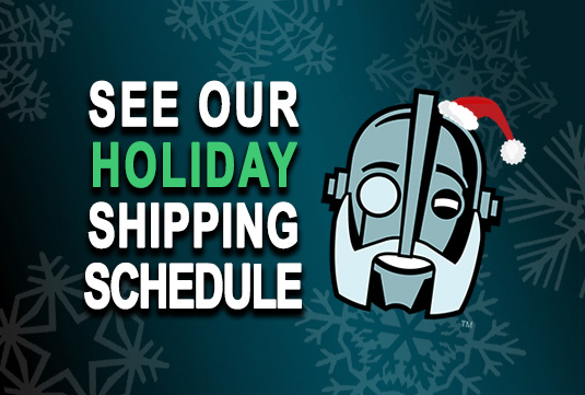 Regal Robot item shipping schedule