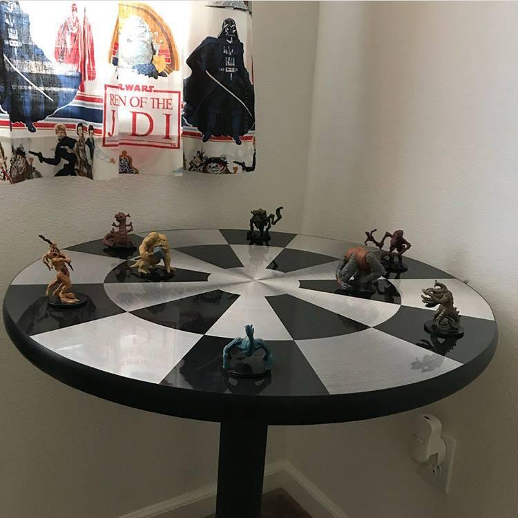 Star Wars table