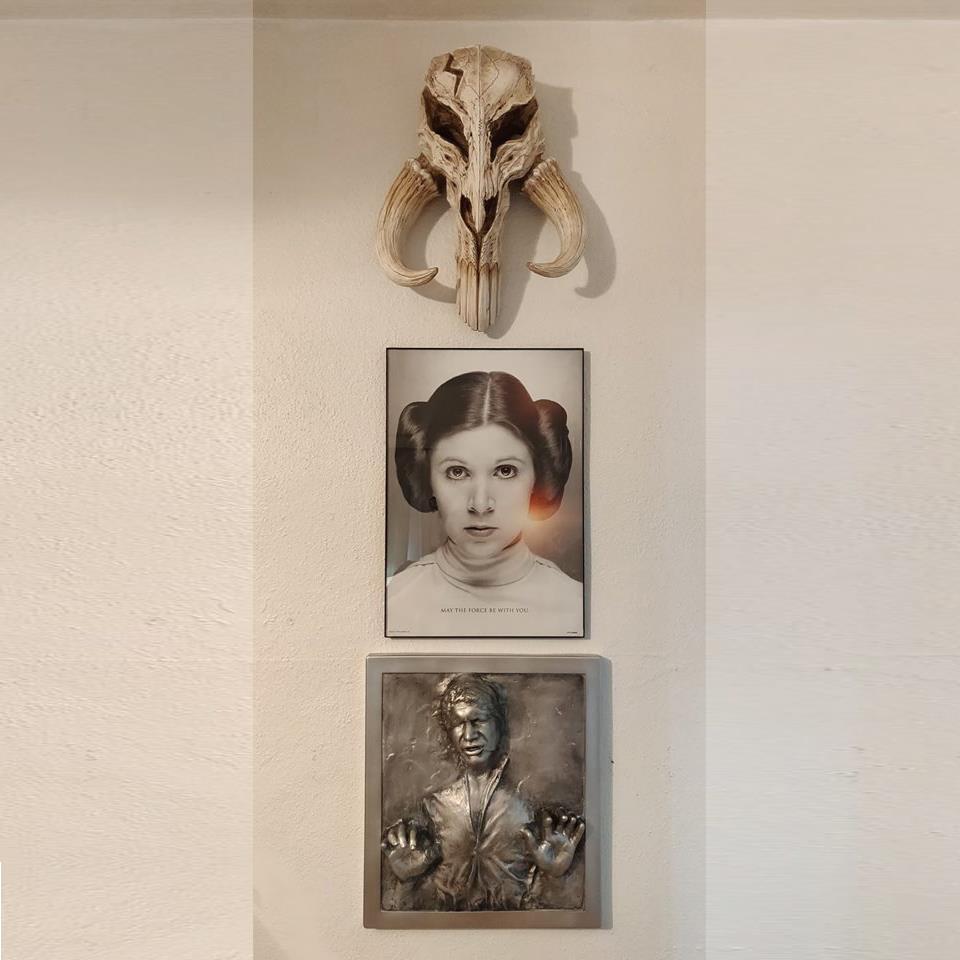 Han Solo Carbonite collectible