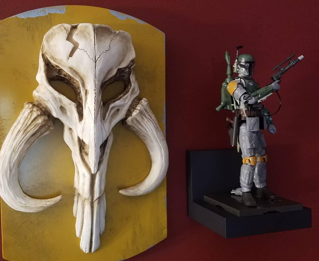 Star Wars, The Mandalorian skull symbol