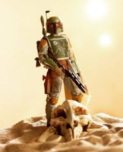Boba Fett skull photo