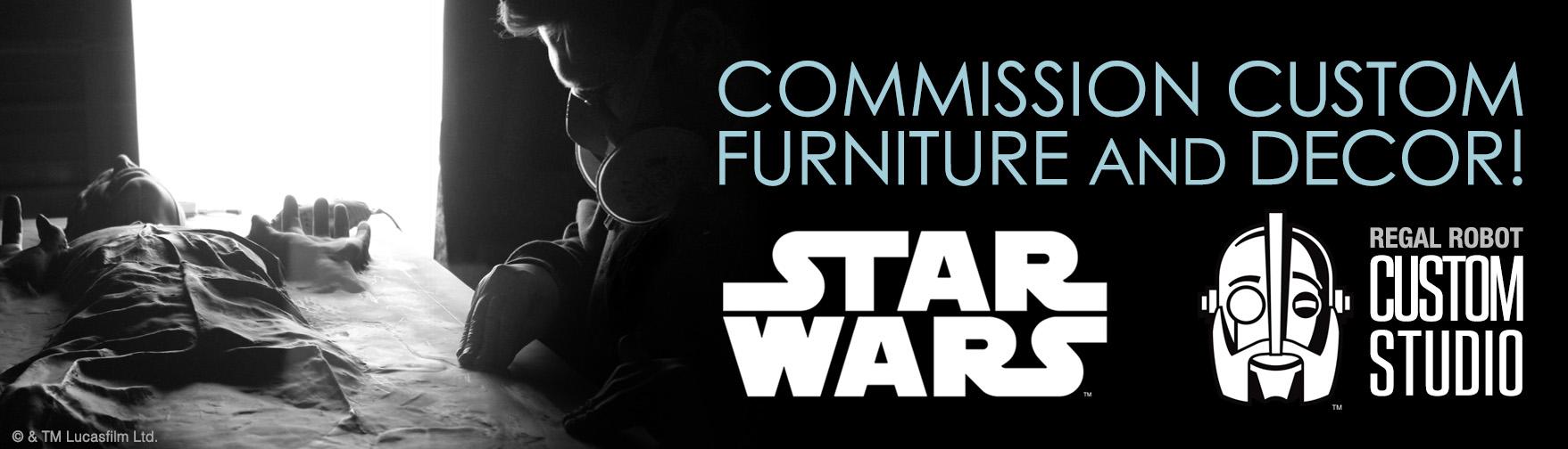 Star Wars Custom Studio – Custom Furniture, Art & Decor