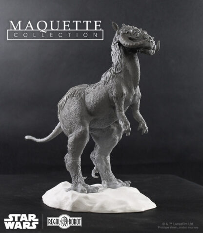 tauntaun statue or figure based on concept art from The Empire Strikes Back