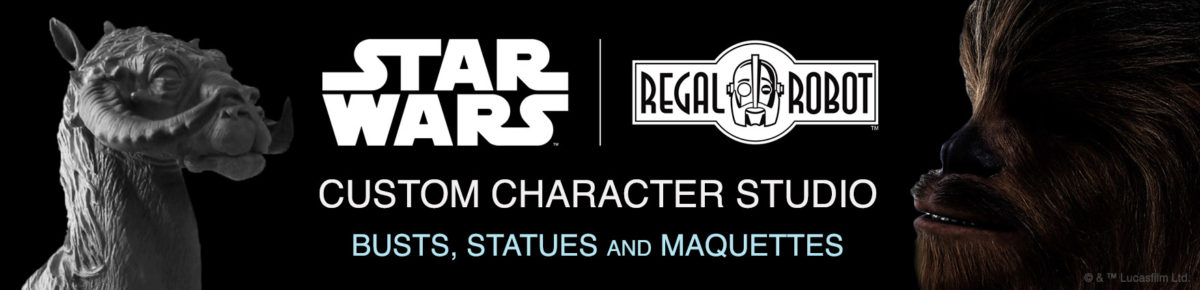 Star Wars life sized statues by Regal Robot