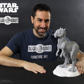 Tauntaun sculpture from The Empire Strikes Back