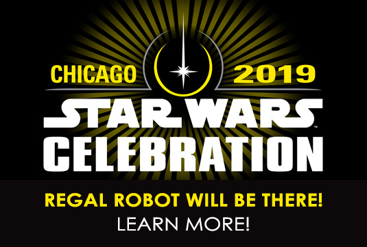 Chicago Star Wars convention booth