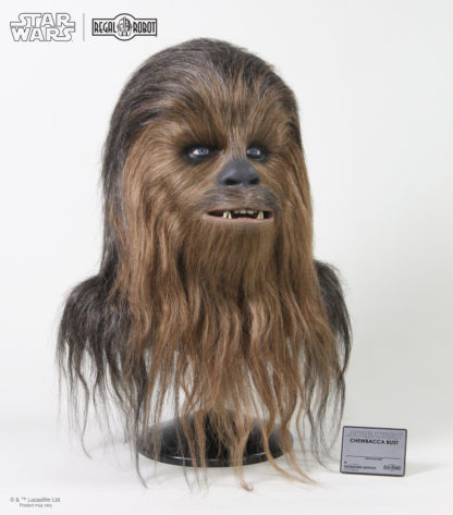 Signature edition life-sized Chewie bust from Empire Strikes Back