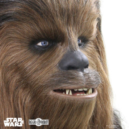 life-sized Chewie bust collectible