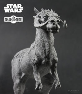 replica Empire Strikes Back tauntaun statue
