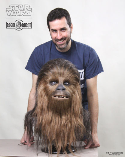 1:1 Chewbacca bust collectible