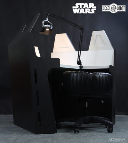 Custom Empire Strikes Back Darth Vader desk created by Regal Robot