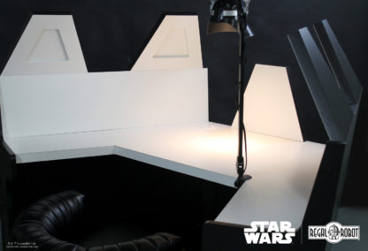 Custom Empire Strikes Back Vader desk created by Regal Robot