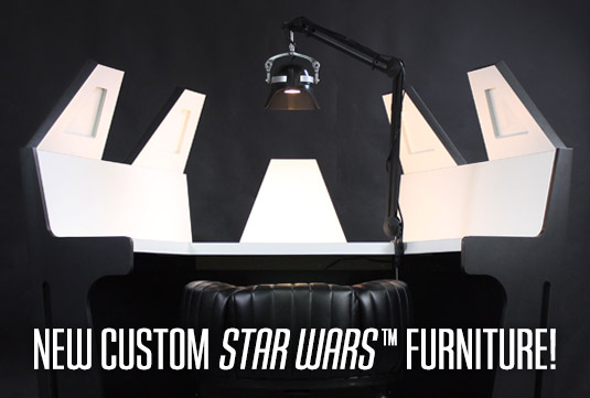 darth vader meditation chamber scene desk