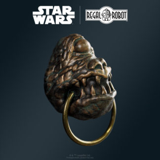 Convention exclusive gargoyle knocker style resin magnet by Regal Robot