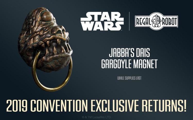 Jabba the Hutt dais Abyssin gargoyle