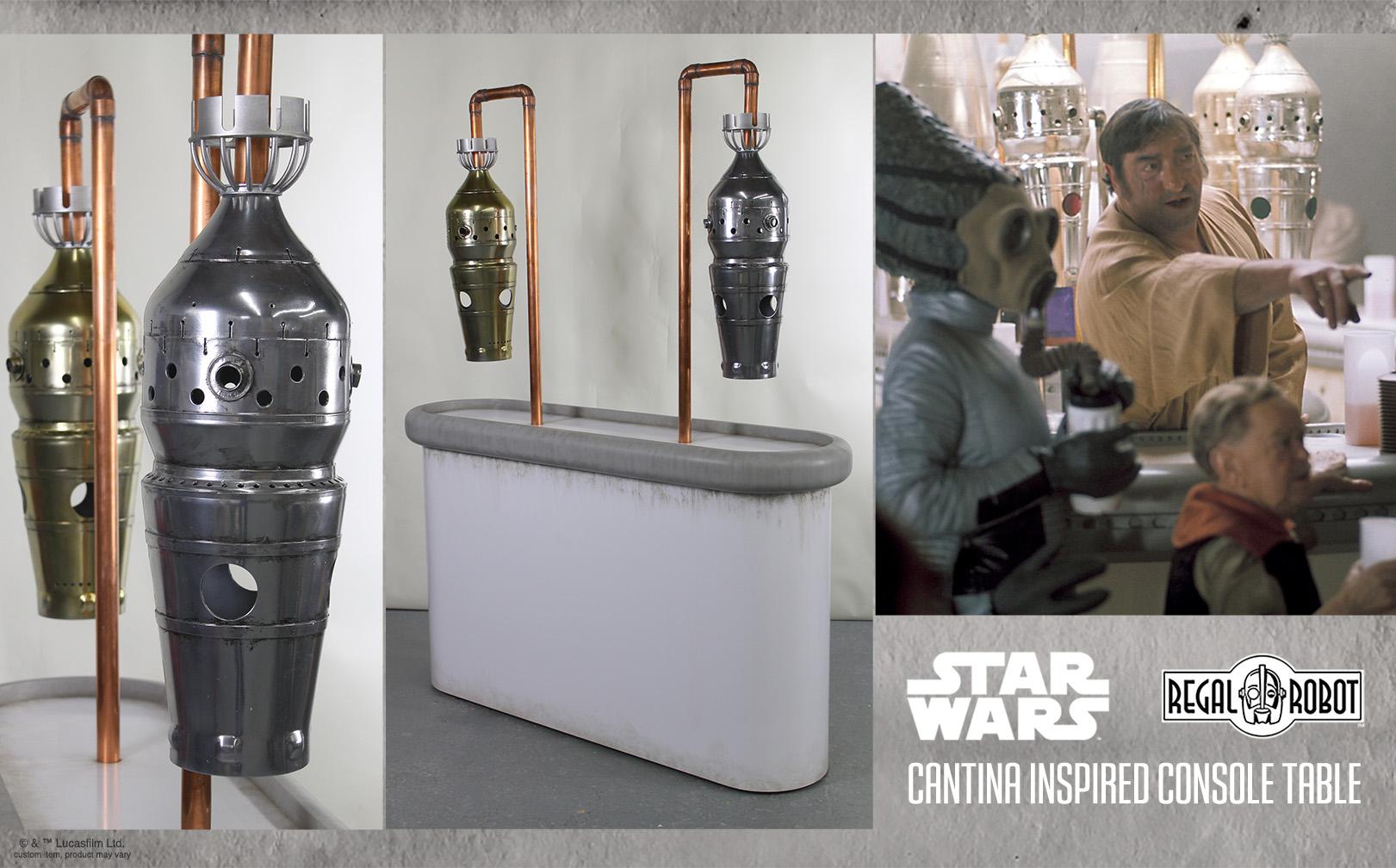 custom star wars cantina furniture by Regal Robot