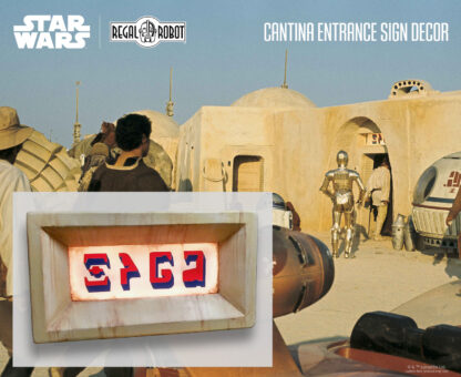 Star Wars cantina sign SPGA