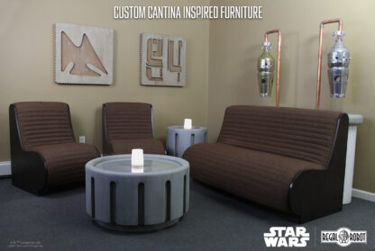 custom star wars cantina furniture by Regal Robot