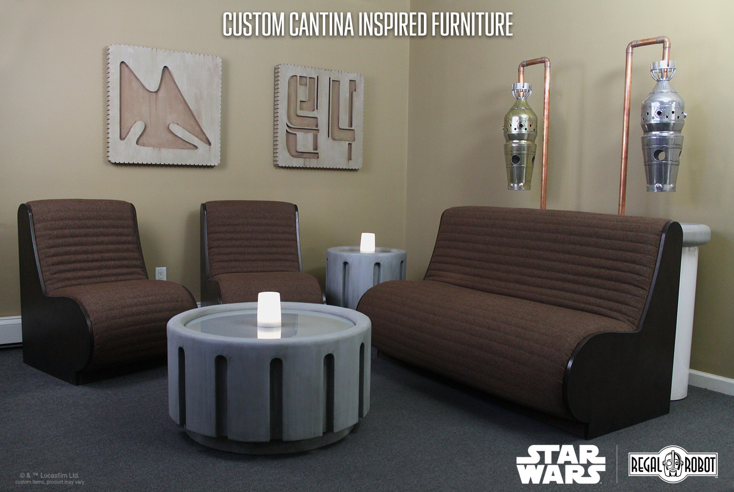 Incredible Custom Cantina Furniture And Decor Regal Robot Creativecarmelina Interior Chair Design Creativecarmelinacom