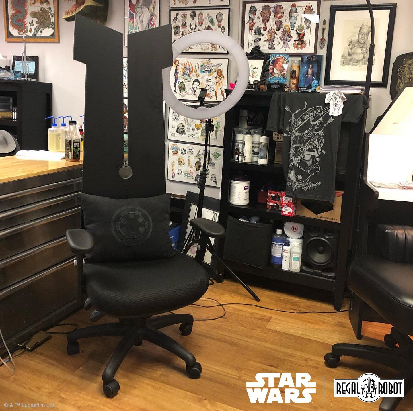 Grand Moff Tarkin's chair by Regal Robot