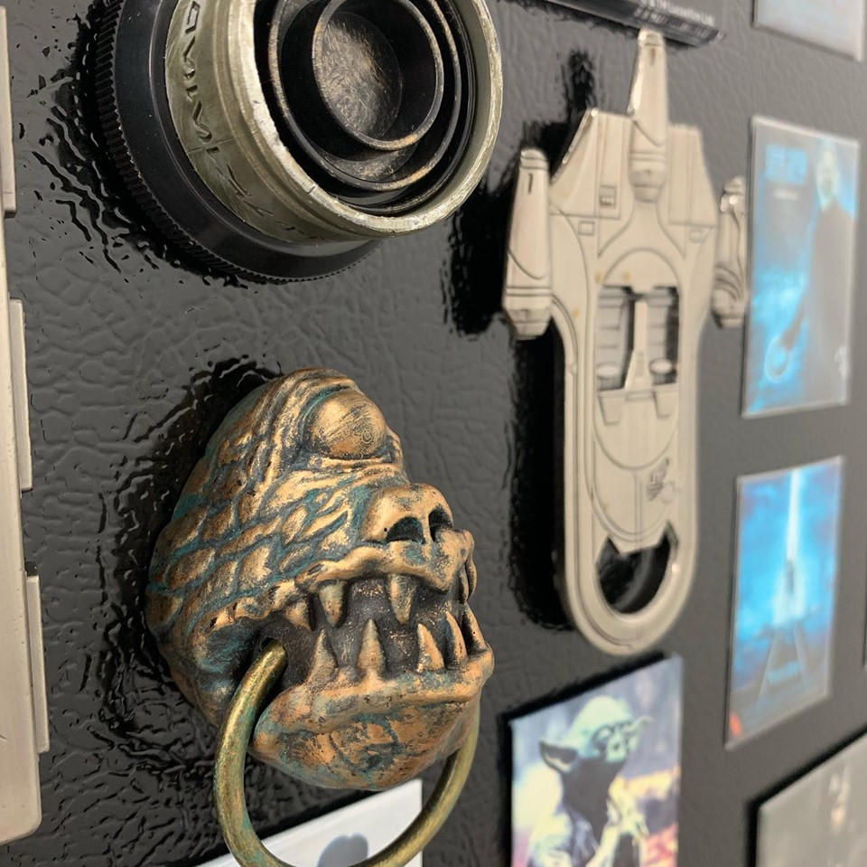 Resin Magnet Collectable Decor Jabba's Palace