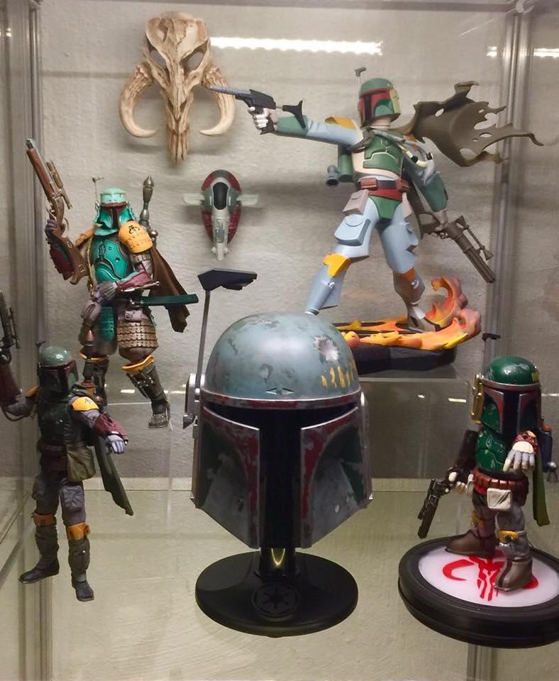 Mini Mythosaur Sculpture Based on Iconic Bounty Hunter Armor