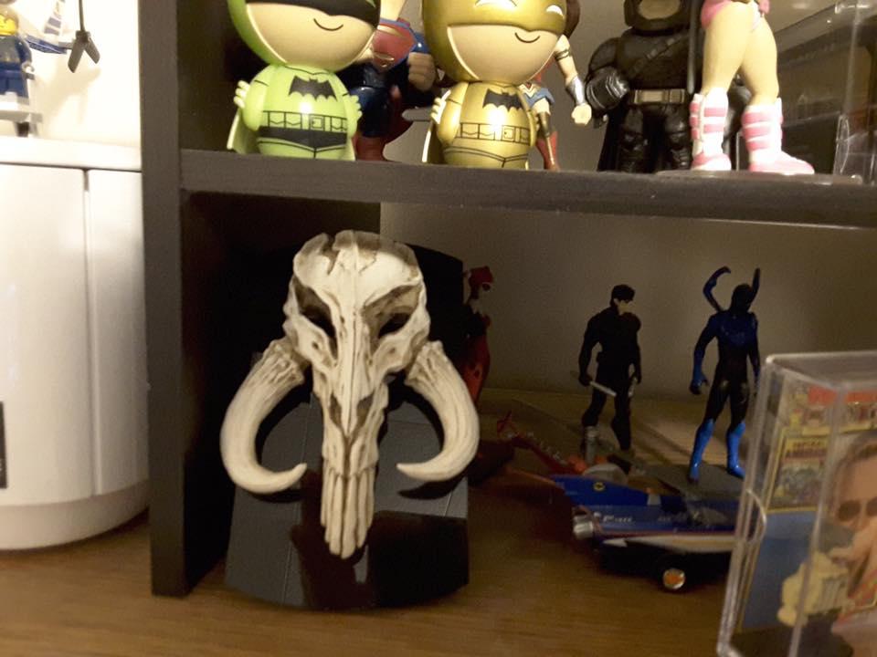 Based on Return of the Jedi Mythosaur hand painted artwork for home office, desk, or shelf display.