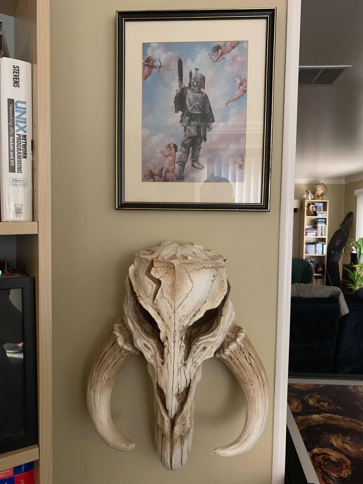 Mythosaur Legendary Bounty Hunter Empire Strikes Back Home Office Studio Decor