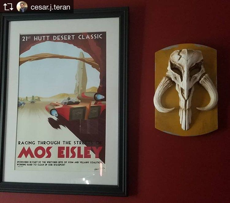 Mythosaur Skull Home Office Theater Wall Art