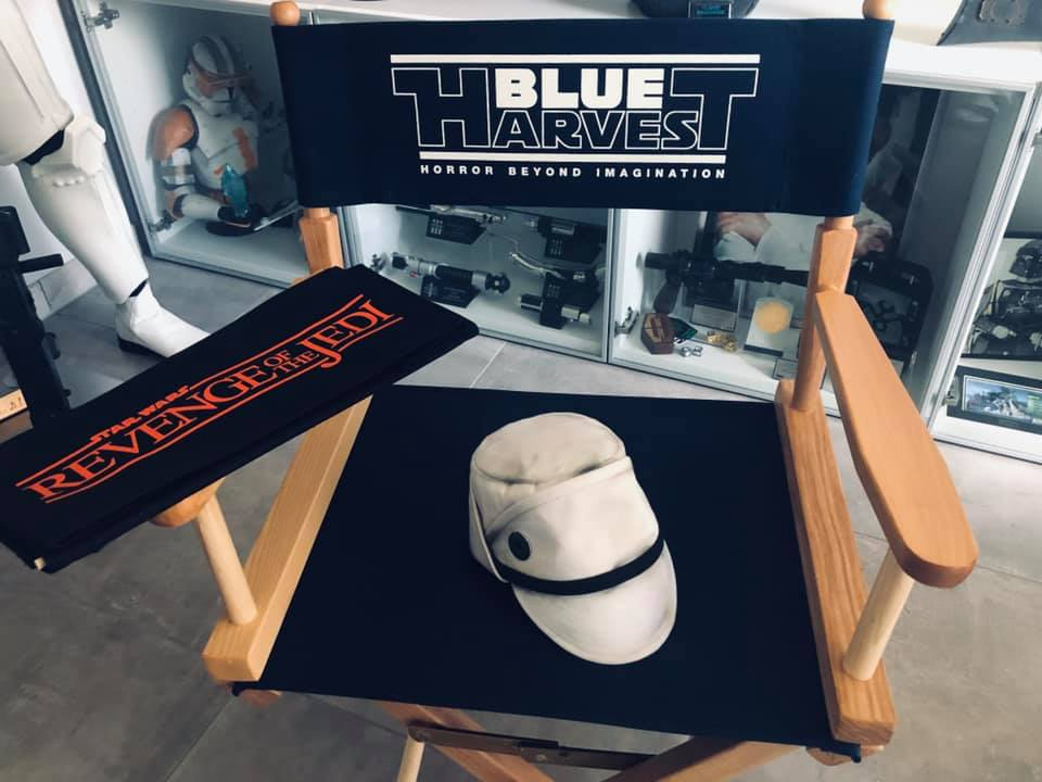 Blue Harvest and Revenge of the Jedi Director chairs