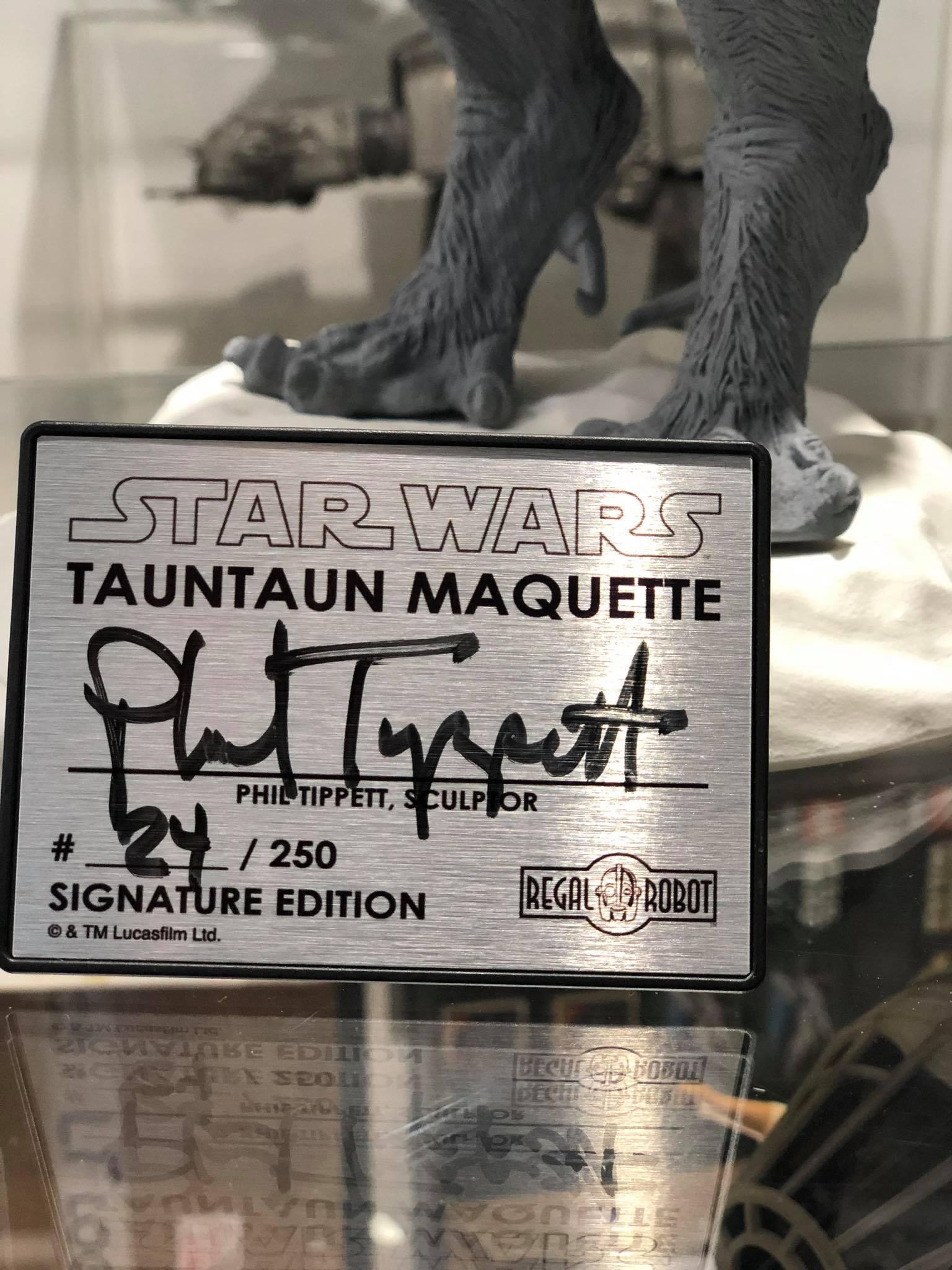 tauntaun stop motion puppet replica