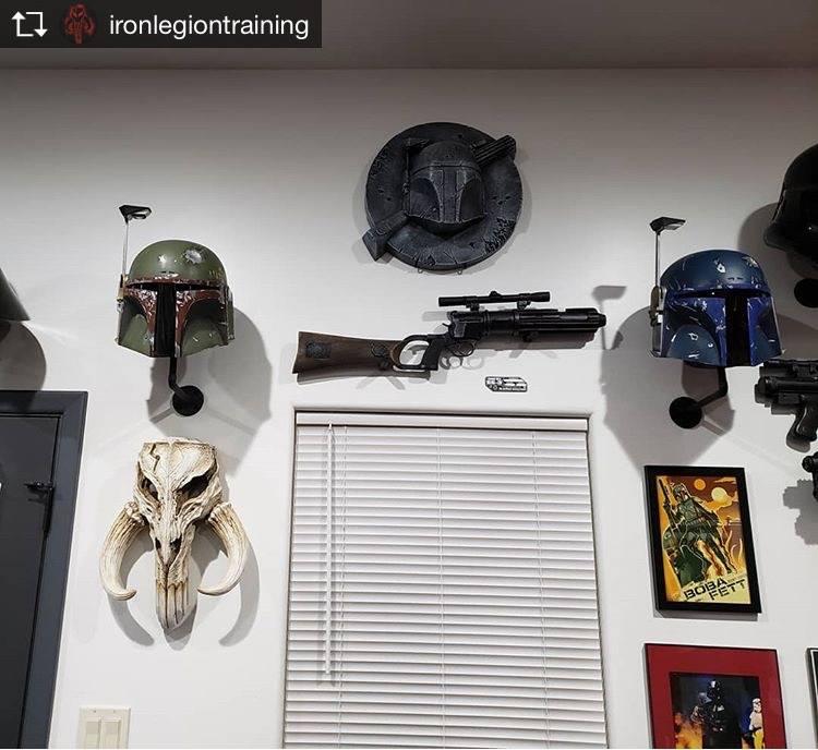 The Mandalorian Boba Fett's classic armor inspired Wall Art Decor