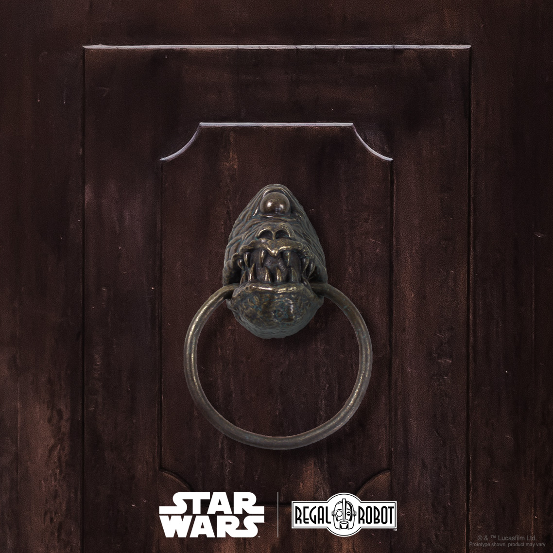 Jabba Dais gargoyle door knocker