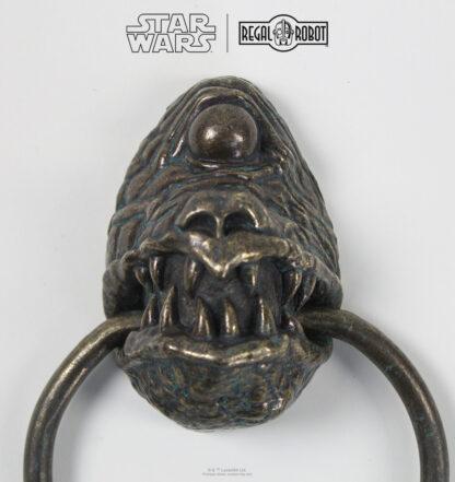 Cyclops door knocker gargoyle bronze