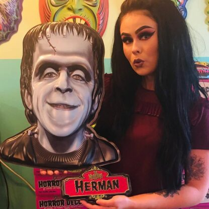 The Munsters Herman Munster wall hanging mask