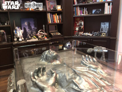 han solo carbonite table collection