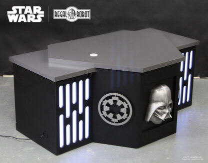 Darth Vader furniture with Death Star light panels