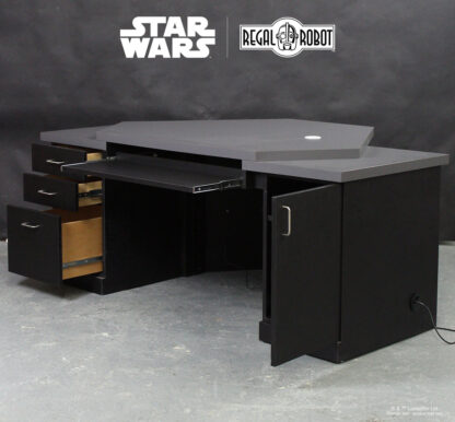 custom star wars desk with drawers