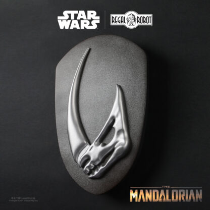 The Mandalorian's mudhorn signet decor
