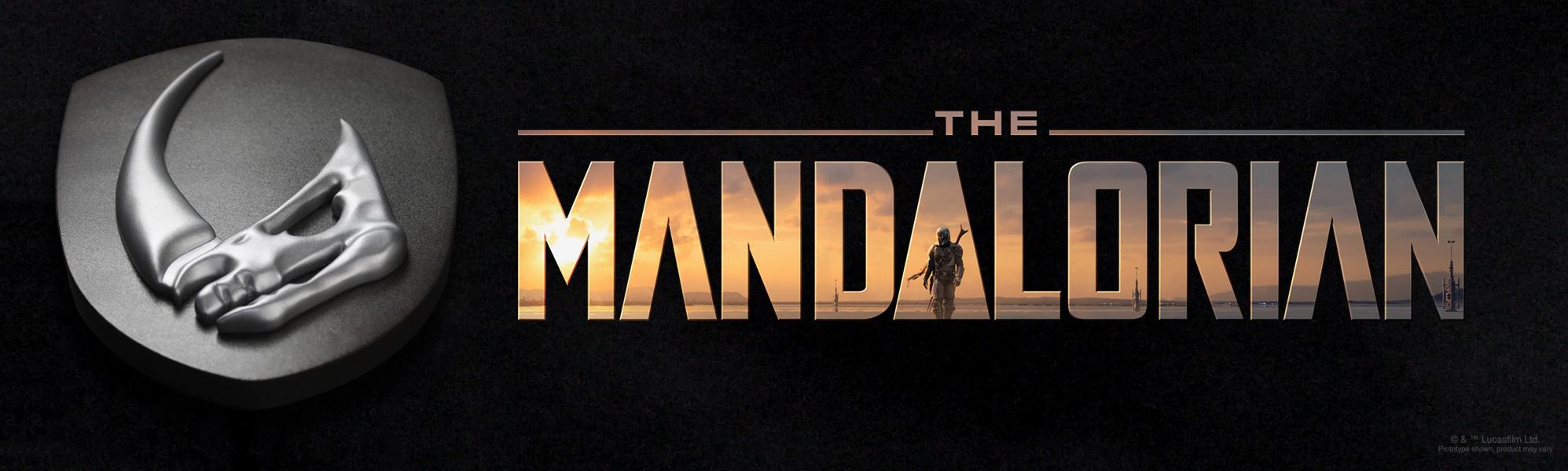 The Mandalorian's mudhorn signet decor
