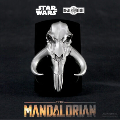 The Mandalorian symbol acrylic display stand