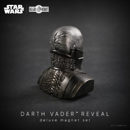 Darth Vader meditation chamber reveal sculpture magnet