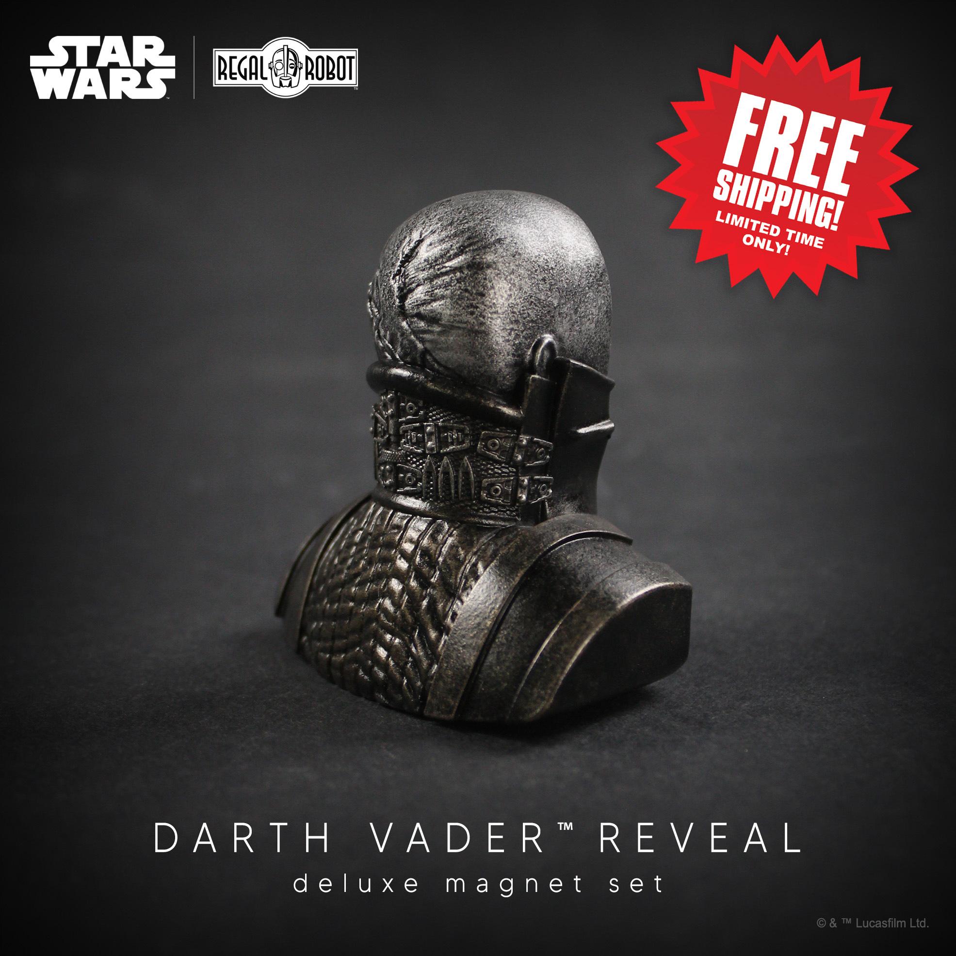 Darth Vader meditation chamber reveal sculpture magnet