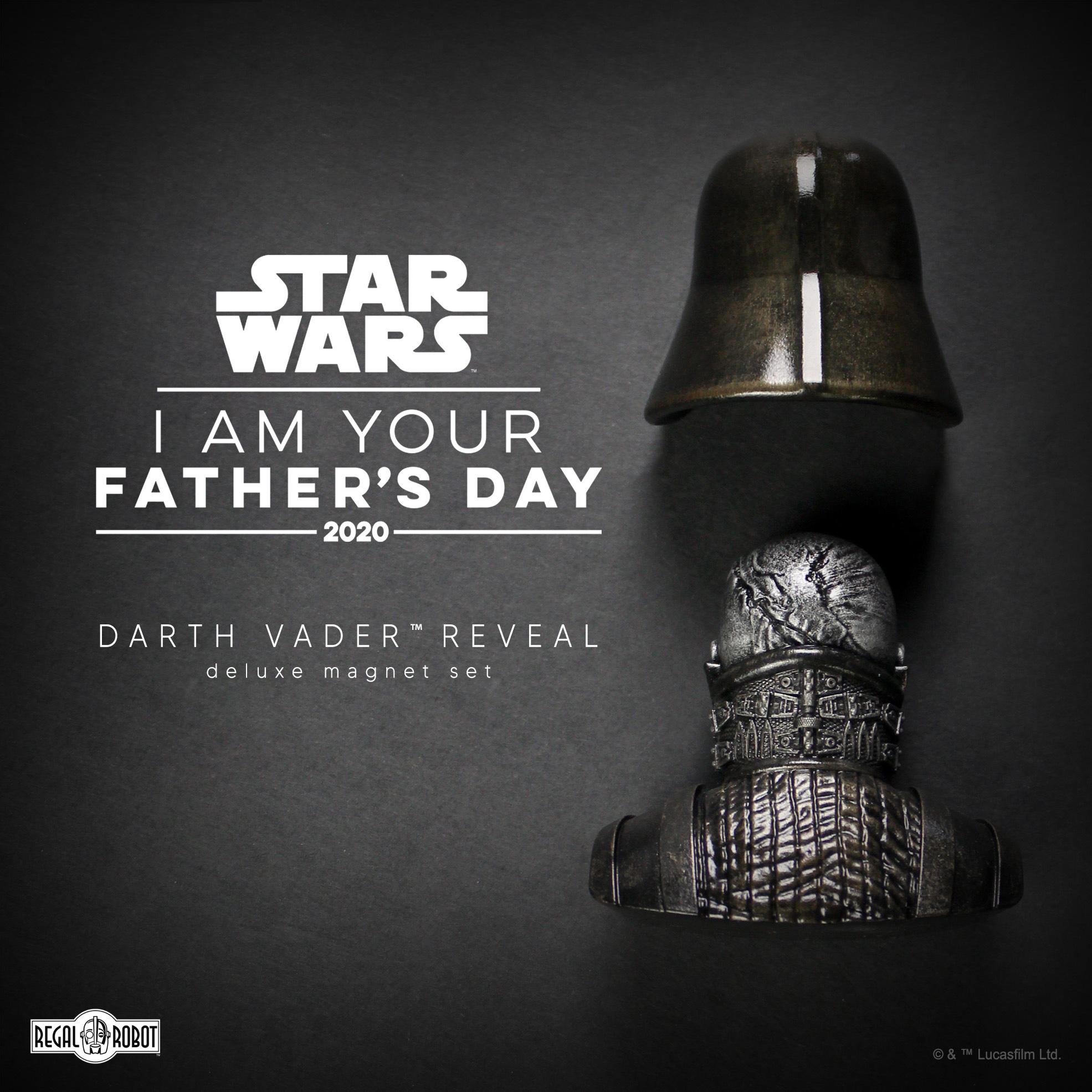 Star Wars sculpture magnets