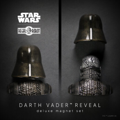 Darth Vader reveal helmet from Empire Strikes Back as magnet set