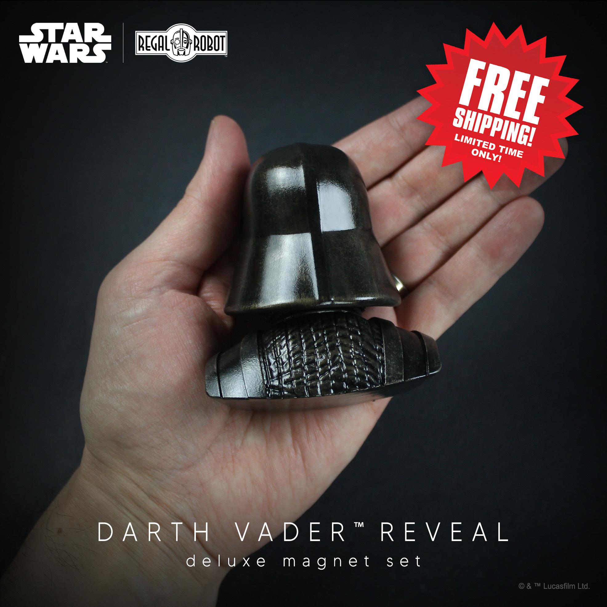 Darth Vader helmet magnet