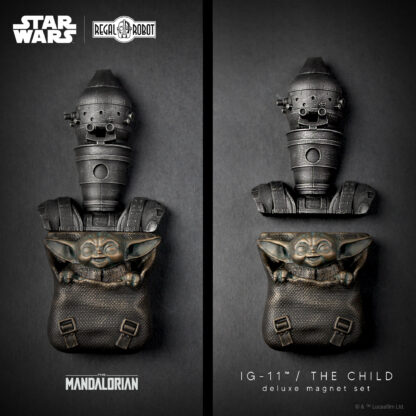 The Mandalorian decorative Elements Series magnets from Regal Robot